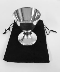 Silver Plated Sick Call Chalice with bag