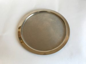 Stainless Steel Communion Bread Plate