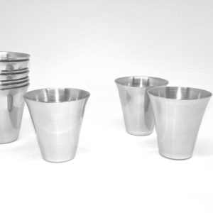 steel communion cups