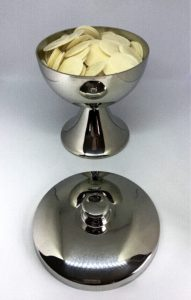 Pewter Ciborium and Wafers